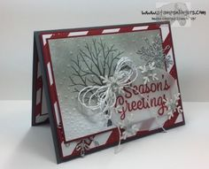 Stampin' Up! Snowflake Sentiments for Stamp Ink Paper #128   Stamps – n - Lingers