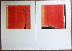 "Saatchi Art Artist Twyla Gettert; Printmaking, ""Landscape Series I and II"" #art"