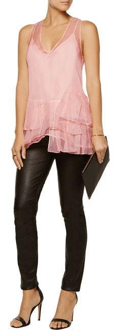 On SALE at 60% OFF! frankie ruffled silk-organza top by Marissa Webb. Cut for a loose fit . Lightweight, non -stretchy fabric . Model is 175cm/ 5'9 and is wearing a size Small Marissa Web...