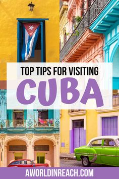 Cuba is an incredibly fascinating destination and is one of the best countries to visit in the Caribbean. If you don't know what to expect, traveling in Cuba can be tricky, so click here for 10 of the best tips for traveling to Cuba - including money tips, lodging advice, and more! Cuba Travel Tips / Visiting Cuba / Havana Travel Tips / Travel to Cuba as an America / Money in Cuba / Budget Travel in Cuba / Shopping in Cuba / Casa Particular in Cuba / food in Cuba / #Cuba #CubaTravelTips Barbados, Jamaica, Travel Advice, Travel Guides, Travel Tips, Budget Travel, Haiti, Honduras, Belize