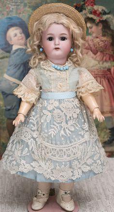 39см Кукла Kammer & Reinhardt, 1915 г. - на сайте антикварных кукол.