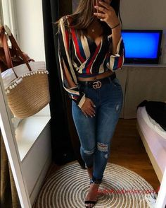 African fashion is available in a wide range of style and design. Whether it is men African fashion or women African fashion, you will notice. Classy Outfits, Chic Outfits, Spring Outfits, Trendy Outfits, Fashion Outfits, Womens Fashion, Skirt Outfits, Denim Fashion, Cute Fashion