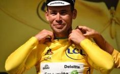 Live: Mark Cavendish -Tour de France 2016, stage one: Mark Cavendish wins sprint finish to take his first ever yellow jersey