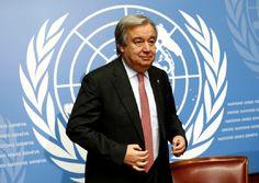 Campomaiornews: António Guterres a horas de liderar a ONU, depois ...