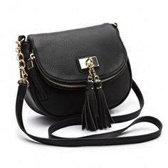 Jessica Flap Over Cross Body Bag with Tassels - W-8820626 | Sears Canada