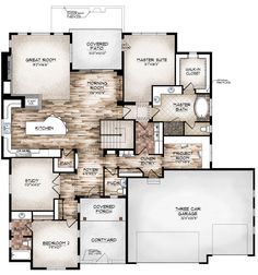 eagle model floor plan by sopris homes