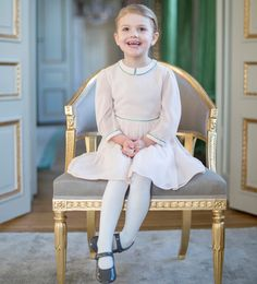 Princess Estelle of Sweden is 4 years old. February 23, 2016