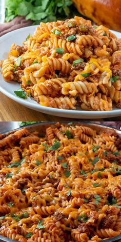 Then you'll love this easy combination of the two with this Sloppy Joe Casserole. Done in under 30 minutes it's an easy weeknight meal. meals for two Sloppy Joe Casserole Vegetarian Recipes, Cooking Recipes, Healthy Recipes, Mexican Rice Recipes, Vegetarian Barbecue, Barbecue Recipes, Oven Recipes, Vegetarian Cooking, Easy Cooking