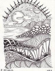 0004 (val71655) Tags: landscape zia zentangle