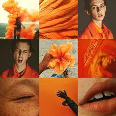 troye sivan orange aesthetic