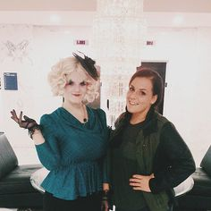 Fierce Effie Trinket and Katniss Everdeen costume