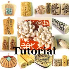 TUTORIAL How to Create Fabulous Faux Bone and Ivory - 11 Recipes, 2 Methods, 6 Special Projects PLUS Sanding and Plexiglas Tutorials.