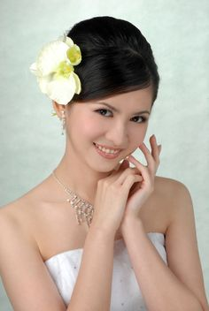 Bridal image makeup