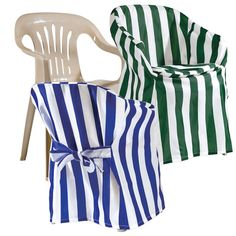 Outdoor Chair Covers Give Ordinary Plastic Chairs A Designer Look Help Them Stay Clean