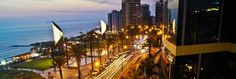 Take in Lima's nightlife, along with stunning views and tasty cocktails, at the best rooftop bars and restaurants in town.