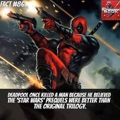 Why Deadpool rocks.