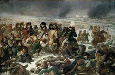 Napoléon sur le champ de bataille d'Eylau, le 9 février 1807 par Antoine-Jean Gros