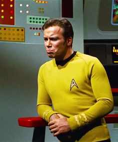 Kirk's pouty three yr old face