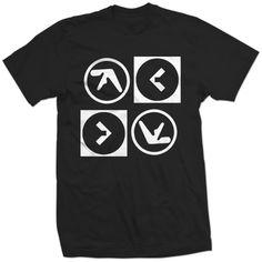 $15  Aphex Twin/Squarepusher Electronic LP Limited New Shirt - eBay