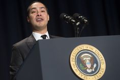 Julian Castro is a smiling bundle of energy whose past includes being mayor of…