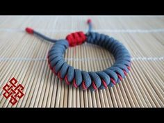 How to Make an Adjustable Stitched Snake Knot Paracord Bracelet Tutorial…