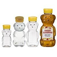 this site has the empty plastic honey bears, make your own honey bear cup!