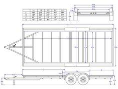 planos para fabricar trailer,acoplados o batan trailers