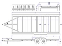 Fifth Wheel Trailers – The Towing Guide Welding Trailer, Trailer Diy, Trailer Plans, Tiny House Trailer, Trailer Build, Homemade Trailer, Homemade Camper, Volkswagen, Car Hauler Trailer