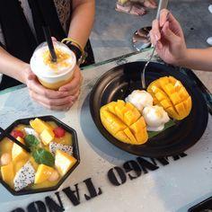 Mango Tango, Bangkok.  This place have their best dessert. so yummss