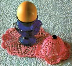 PDF Victorian 'Easter' Egg Cosies Crochet by TheAtticofKitsch