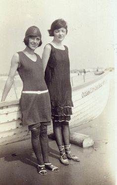 Maybe we could old school/vintage feel water goers? Vintage Swimming (326) by yesterphoto, via Flickr