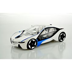 1:14 scale BMW Vision I8 Licansed car with working head, tail and Blue grill lights, extreme detail 70-100 feet range and Tri-band remote system to allow up to 3 operators to run at the same location