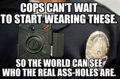 And they were paid for by donations to the Police Department by citizens!