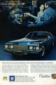 Cadillac Eldorado, luxury convertibles & other 1972 models  Read more at http://clickamericana.com/eras/1970s/cadillac-eldorado-luxury-convertibles-other-1972-models | Click Americana