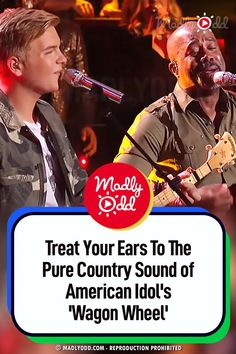 "Country ballads are the best. I like music that tells a good story. American Idol delivers ""Wagon Wheel"" to perfection. #AmericanIdol #countrymusic  #music #singing #duet American Patriotic Songs, Old Crow Medicine Show, Funny Riddles, Pop Charts, Lionel Richie, Wagon Wheel, Luke Bryan, Hit Songs, Folk Music"
