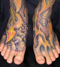 Hiro bio feet by Guy Aitchison: TattooNOW :