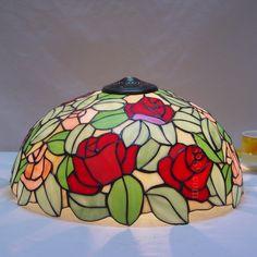 Rose Tiffany Lamp 16S0-197