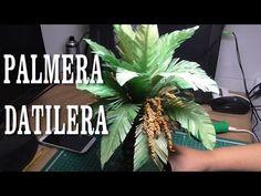 DIY PALMERA DATILERA DE TRONCO GORDO