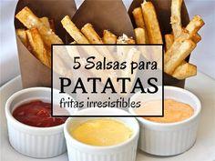 5 Salsas para patatas fritas irresistibles en Ideas para cocinar no te lo puedes perder!! Pincha en este enlace o en la foto para ver la publicación completa ahora!!