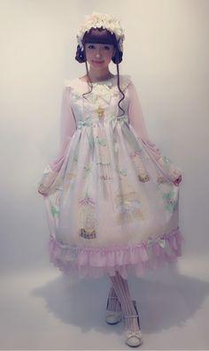 Lolita fashion - 2016 release for Baby the Stars Shine Bright - model Misako Aoki