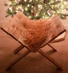LOVED doing this growing up! Preparing children for Jesus: keep some straw nearby; when a child is caught showing kindness another, they get to add straw to the manger, thus 'preparing' the manger for the Holy Infant.