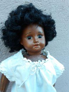 - Ancienne poupée mannequin noire - tête porcelaine - | eBay