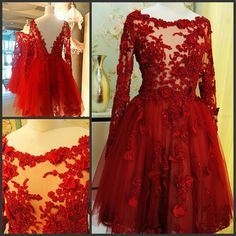 Find More Wedding Dresses Information about Cathedral Tail Same picture  2016 Luxuries Short Bridal Gowns Lace Beads V Backless Wine Red Vestido De Noiva wedding dresses,High Quality gown party dress,China dress up games prom dresses Suppliers, Cheap dress list from wellbridal dresses 738196 on Aliexpress.com