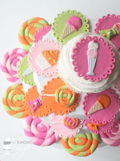 <3 Cupcake Toppers