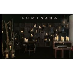 We ❤️ the stunning stand made by Velas Luminara for the Expohogar Barcelona decor exhibition with the mesmerizing range of Luminara flameless candles ⭐️