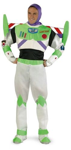 Buzz Lightyear Costume--so going to make Clint dress up like for the party haha