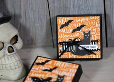 Videoserie 8 Tage Halloween - Tag 8 - Pillowbox mit Stampin' Up!