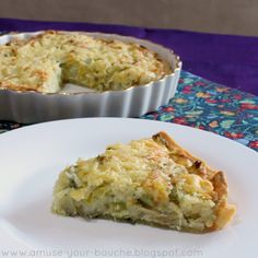 Homity Pie - Cheese, Leek and Potato Pie