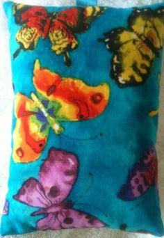 Butterfly Fabric Lavender Bag- Handmade