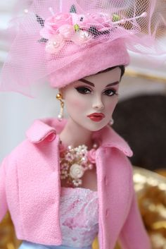 Modelling a lovely dress by Ginny. Jewelry available on ebay www.ebay.com/sch/m.html?item=111341947796&ssPageName=...